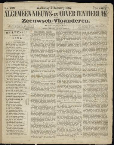 Ter Neuzensche Courant. Algemeen Nieuws- en Advertentieblad voor Zeeuwsch-Vlaanderen / Neuzensche Courant ... (idem) / (Algemeen) nieuws en advertentieblad voor Zeeuwsch-Vlaanderen 1867