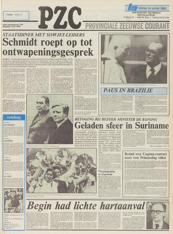 Provinciale Zeeuwse Courant 1980-07-01