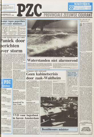 Provinciale Zeeuwse Courant 1988-02-10