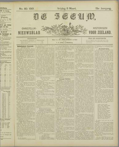 De Zeeuw. Christelijk-historisch nieuwsblad voor Zeeland 1901-03-08