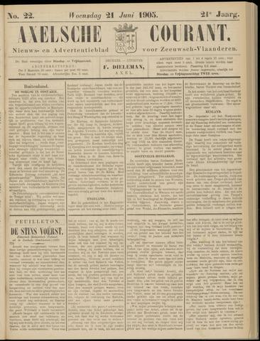 Axelsche Courant 1905-06-21