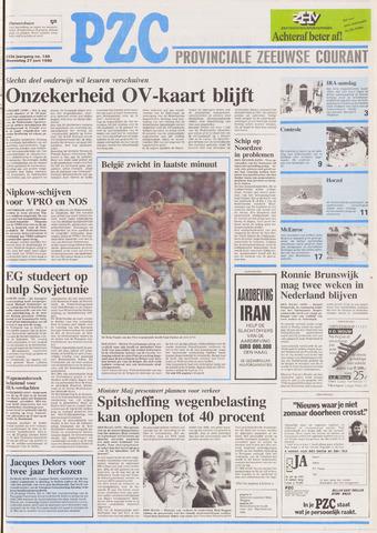 Provinciale Zeeuwse Courant 1990-06-27