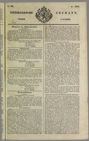 Zierikzeesche Courant 1844-10-11