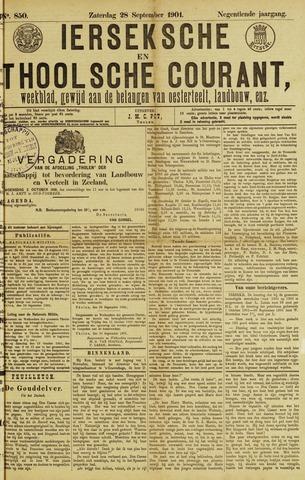 Ierseksche en Thoolsche Courant 1901-09-28