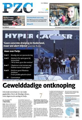Provinciale Zeeuwse Courant 2015-01-10