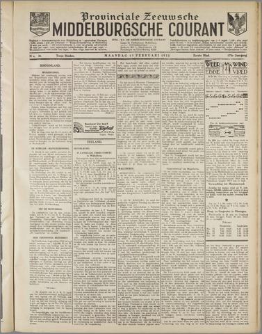 Middelburgsche Courant 1932-02-15