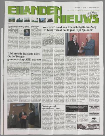 Eilanden-nieuws. Christelijk streekblad op gereformeerde grondslag 2007-10-02