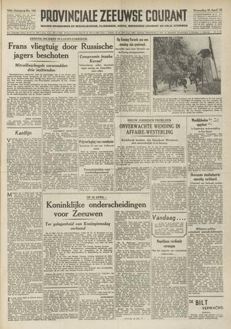 Provinciale Zeeuwse Courant 1952-04-30