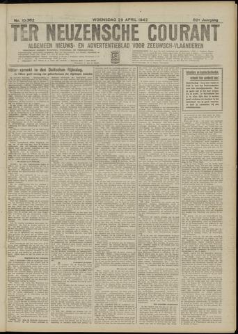Ter Neuzensche Courant. Algemeen Nieuws- en Advertentieblad voor Zeeuwsch-Vlaanderen / Neuzensche Courant ... (idem) / (Algemeen) nieuws en advertentieblad voor Zeeuwsch-Vlaanderen 1942-04-29