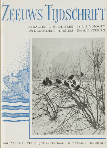 Zeeuws Tijdschrift 1952-01-01
