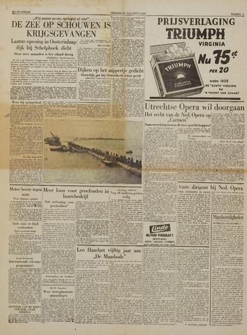Watersnood documentatie 1953 - kranten 1953-08-28