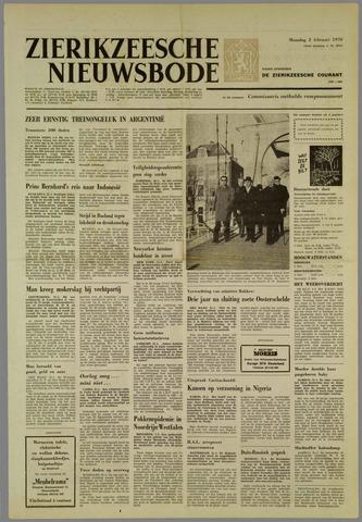 Zierikzeesche Nieuwsbode 1970-02-02