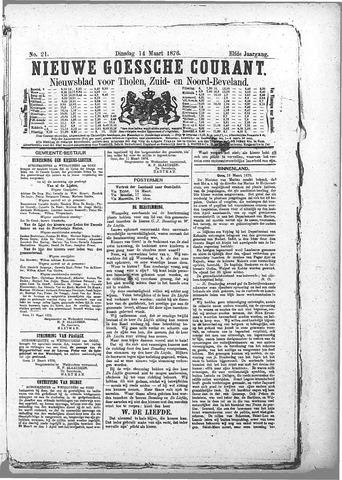 Nieuwe Goessche Courant 1876-03-14