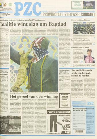 Provinciale Zeeuwse Courant 2003-04-10