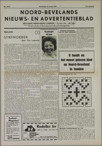 Noord-Bevelands Nieuws- en advertentieblad 1981-01-29