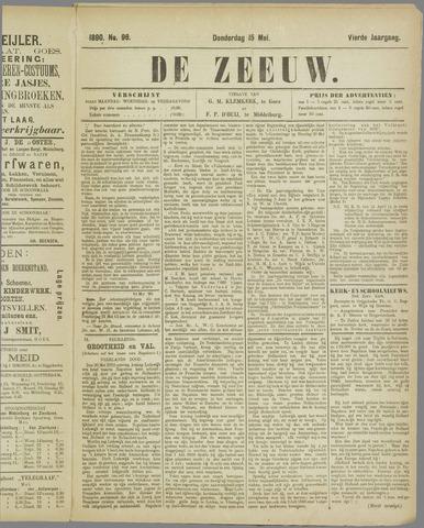 De Zeeuw. Christelijk-historisch nieuwsblad voor Zeeland 1890-05-15