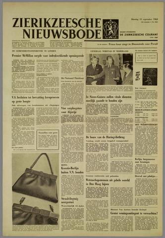 Zierikzeesche Nieuwsbode 1962-09-11
