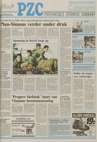 Provinciale Zeeuwse Courant 1992-10-20