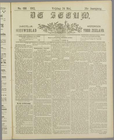 De Zeeuw. Christelijk-historisch nieuwsblad voor Zeeland 1912-05-24