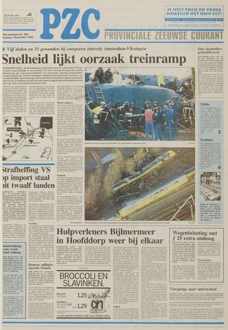 Provinciale Zeeuwse Courant 1992-12-01