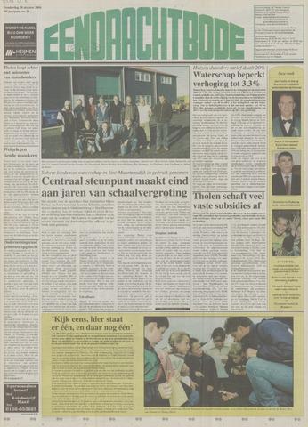 Eendrachtbode (1945-heden)/Mededeelingenblad voor het eiland Tholen (1944/45) 2004-10-28