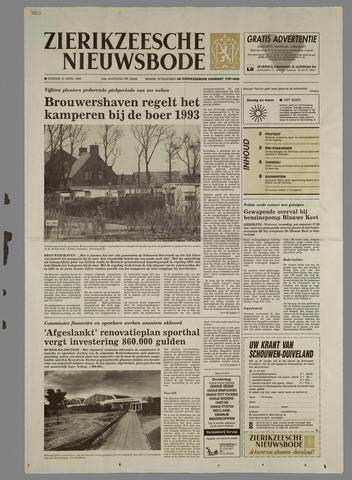 Zierikzeesche Nieuwsbode 1993-04-27