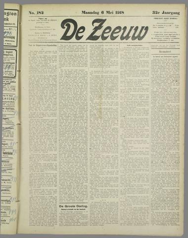 De Zeeuw. Christelijk-historisch nieuwsblad voor Zeeland 1918-05-06