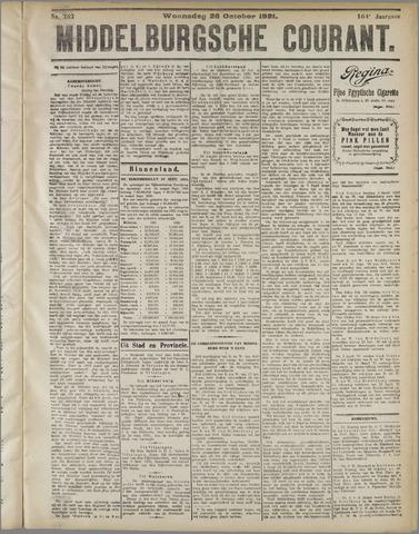 Middelburgsche Courant 1921-10-26