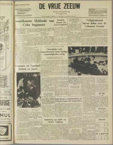 de Vrije Zeeuw 1962-10-25