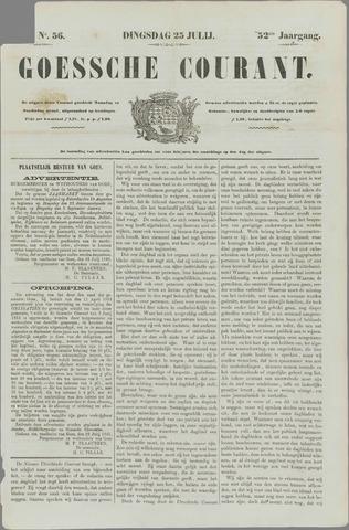 Goessche Courant 1865-07-25