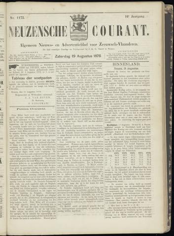 Ter Neuzensche Courant. Algemeen Nieuws- en Advertentieblad voor Zeeuwsch-Vlaanderen / Neuzensche Courant ... (idem) / (Algemeen) nieuws en advertentieblad voor Zeeuwsch-Vlaanderen 1876-08-19