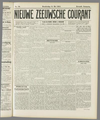 Nieuwe Zeeuwsche Courant 1911-05-11
