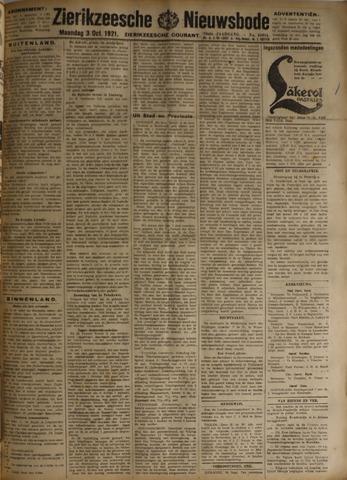 Zierikzeesche Nieuwsbode 1921-10-03