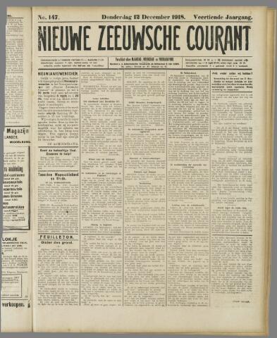 Nieuwe Zeeuwsche Courant 1918-12-12