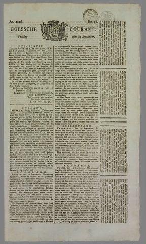 Goessche Courant 1826-09-22