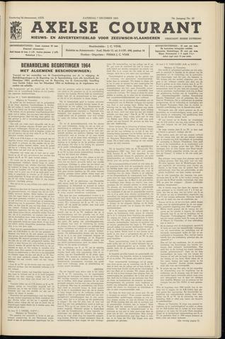 Axelsche Courant 1963-12-07
