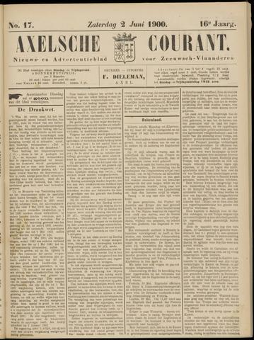 Axelsche Courant 1900-06-02