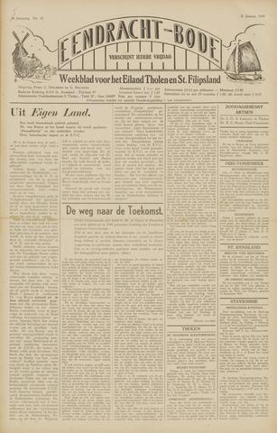Eendrachtbode (1945-heden)/Mededeelingenblad voor het eiland Tholen (1944/45) 1949-01-21