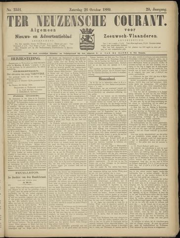 Ter Neuzensche Courant. Algemeen Nieuws- en Advertentieblad voor Zeeuwsch-Vlaanderen / Neuzensche Courant ... (idem) / (Algemeen) nieuws en advertentieblad voor Zeeuwsch-Vlaanderen 1889-10-26