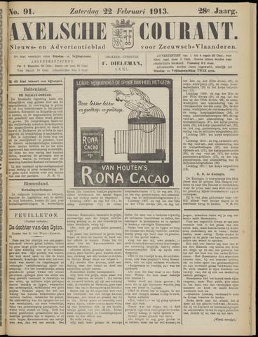 Axelsche Courant 1913-02-22
