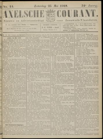 Axelsche Courant 1918-05-25