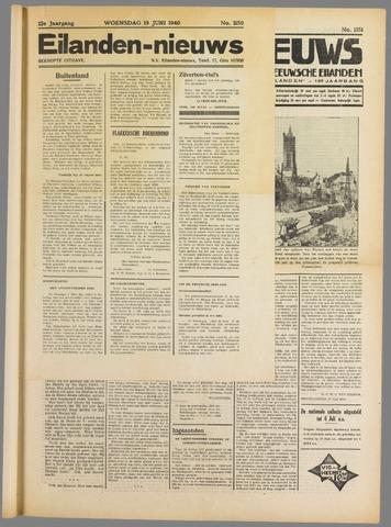 Eilanden-nieuws. Christelijk streekblad op gereformeerde grondslag 1940-06-19