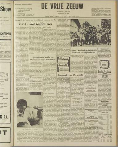 de Vrije Zeeuw 1962-06-09