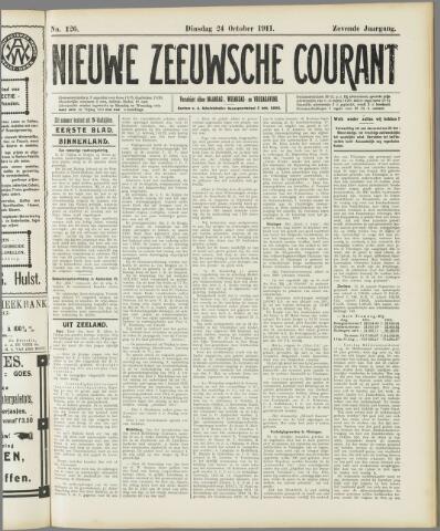 Nieuwe Zeeuwsche Courant 1911-10-24