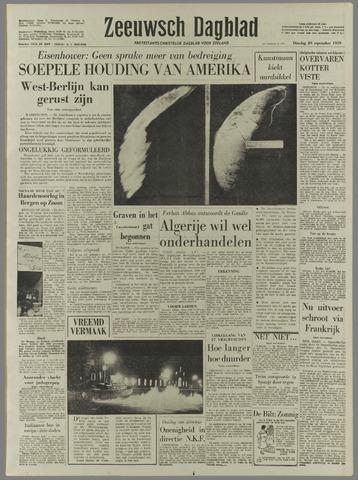 Zeeuwsch Dagblad 1959-09-29
