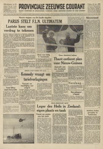 Provinciale Zeeuwse Courant 1962-01-26