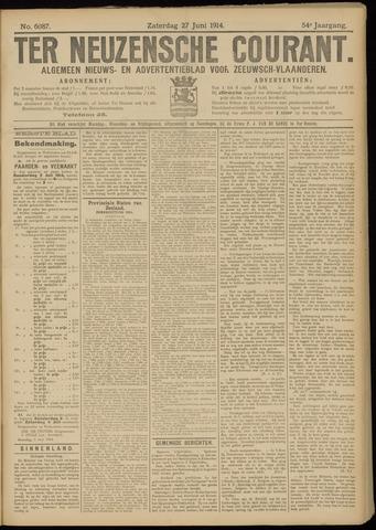Ter Neuzensche Courant. Algemeen Nieuws- en Advertentieblad voor Zeeuwsch-Vlaanderen / Neuzensche Courant ... (idem) / (Algemeen) nieuws en advertentieblad voor Zeeuwsch-Vlaanderen 1914-06-27