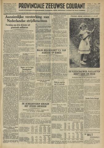 Provinciale Zeeuwse Courant 1950-08-04