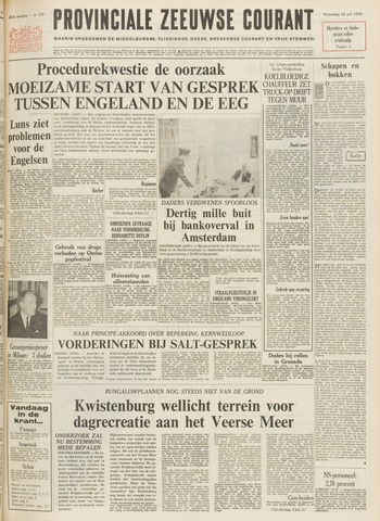 Provinciale Zeeuwse Courant 1970-07-22