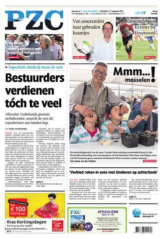 Provinciale Zeeuwse Courant 2015-08-17